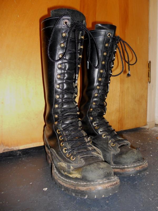 White S Boots Lineman 85v Boots Jane S Toolbelt